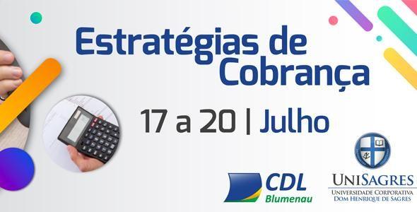 CDL Blumenau lança treinamento de Estratégias de Cobrança