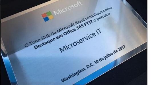 Microservice recebe reconhecimento da Microsoft em Washington
