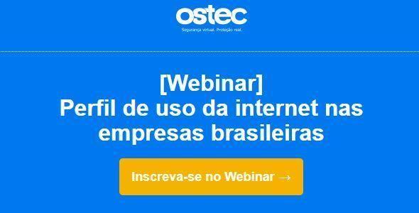 Webinar gratuito apresenta dados sobre o uso da internet nas empresas brasileiras