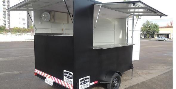 Alugar trailer é opção para iniciar o próprio negócio