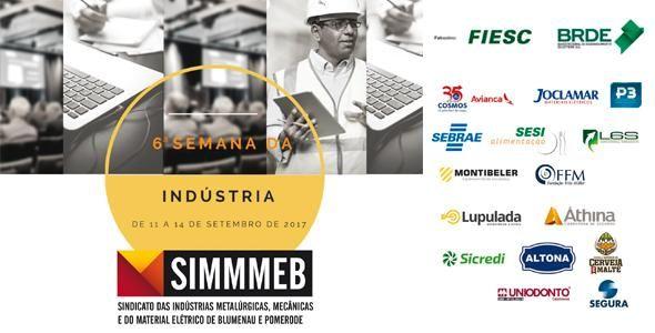 Inscrições abertas para as palestras da 6ª Semana da Indústria