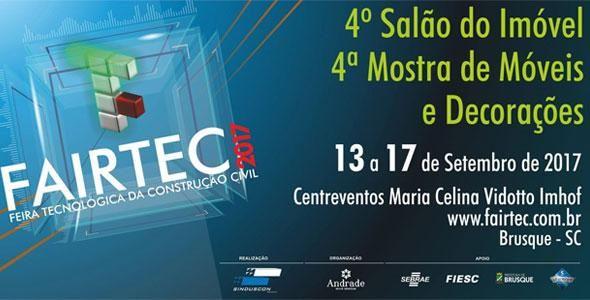 Inovações Tecnológicas e Sustentabilidade pautam os expositores da FAIRTEC 2017