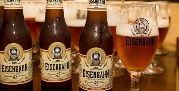 Eisenbahn faz 15 anos e cria cerveja para catarinenses
