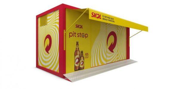 Skol traz modelo da franquia Pit Stop Skol para Santa Catarina
