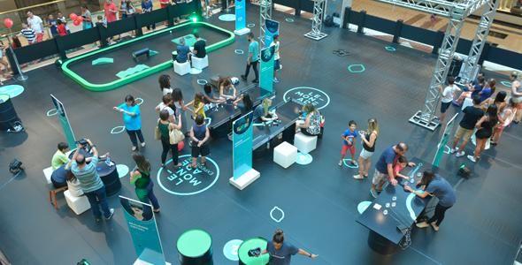Blumenau recebe Lemonade Experience, parque que propõe experiências tecnológicas