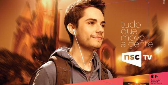 Exit Comunicação e Negócios  desenvolve campanha para a NSC TV
