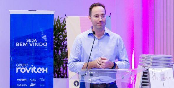 Rovitex apresenta novo vice-presidente
