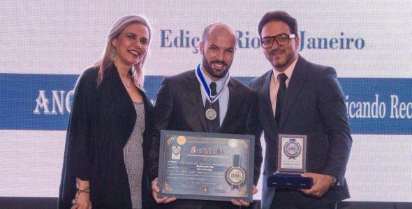 Barbearia VIP recebe prêmio no Rio de Janeiro