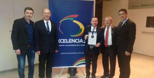 SIMMMEB recebe Prêmio Catarinense da Excelência