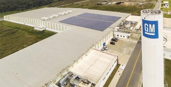 Fábrica da GM em Joinville receberá R$ 1,9 bilhão