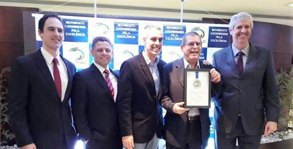 Trytech, fabricante dos filtros de ar automotivos INflow, recebe prêmio em Santa Catarina