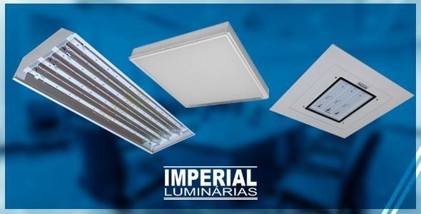 Imperial Luminárias, especializada sistemas de iluminação para ambientes empresariais