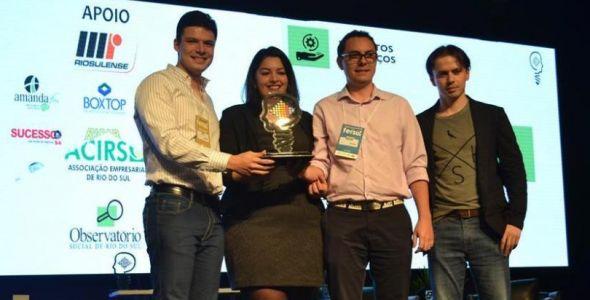 Startup Meu Crediário recebe prêmio de inovação ACIRS