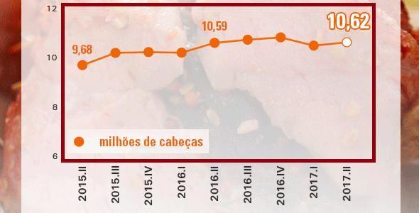 Cresce consumo da carne suína no Brasil e exterior