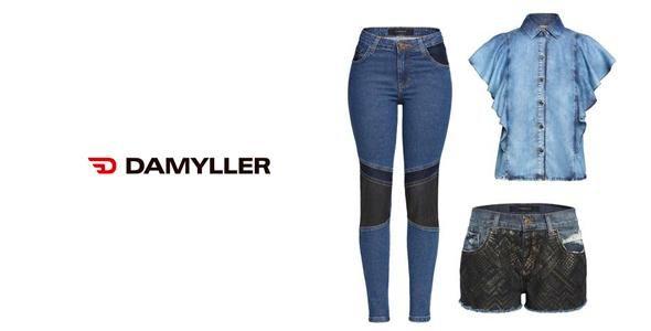 Jeans é o carro chefe da Damyller para a coleção verão