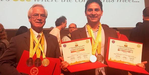 Prodapys recebe medalha de ouro internacional em apicultura