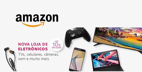 Amazon começa a vender eletrônicos no Brasil