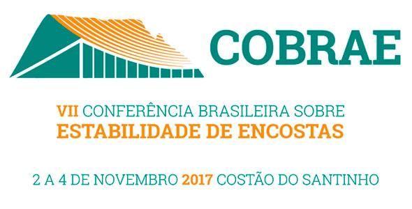 Resultado de imagem para Conferência Brasileira sobre Estabilidade de Encostas