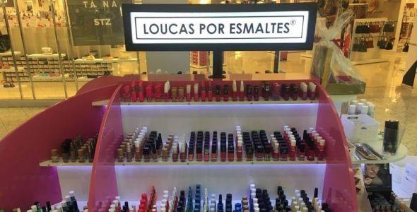 Loucas por Esmaltes se instala no Shopping Pátio Chapecó