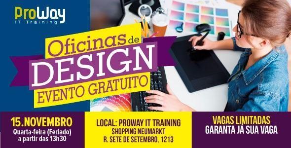 ProWay realiza evento gratuito promovendo Oficinas de Design