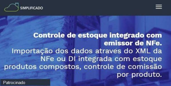 Controle de Estoque integrado com emissor de NFe