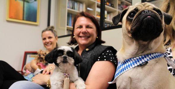 Empresa promove Pet Day e colaboradores podem levar animais de estimação para o trabalho