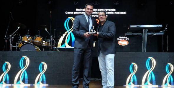 Anjo Tintas conquista três troféus no Prêmio Artesp