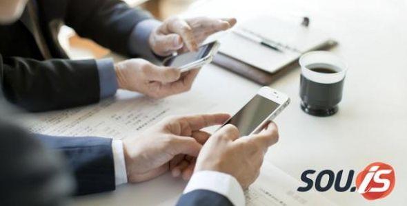 Vendas Mobile no SOU.IS Gestão Empresarial