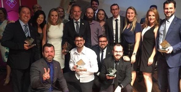 DC Logistics Brasil recebe seis troféus no Prêmio Infraero de Eficiência Logística 2017