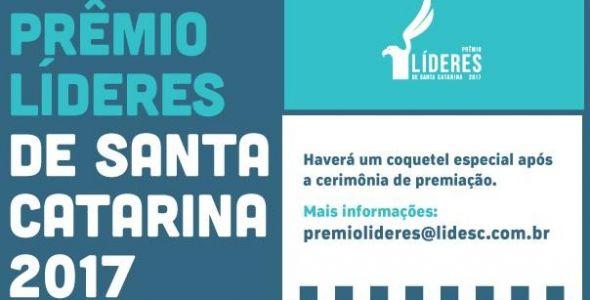 Prêmio Líderes reconhecerá empresários catarinenses de destaque