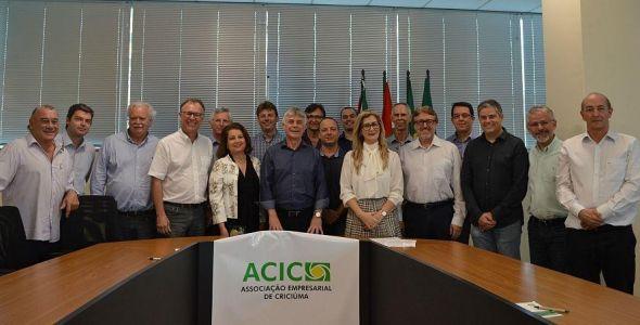 Moacir Dagostin eleito presidente da Associação Empresarial de Criciúma