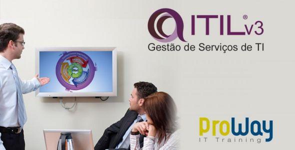 ProWay promove última turma de ITIL com grandes vantagens