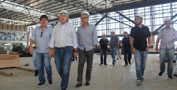 Empresários visitam Centro de Eventos de Balneário Camboriú