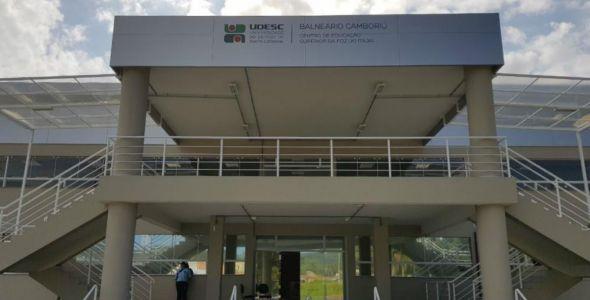 Primeiro prédio da Udesc Balneário Camboriú será inaugurado na quarta-feira