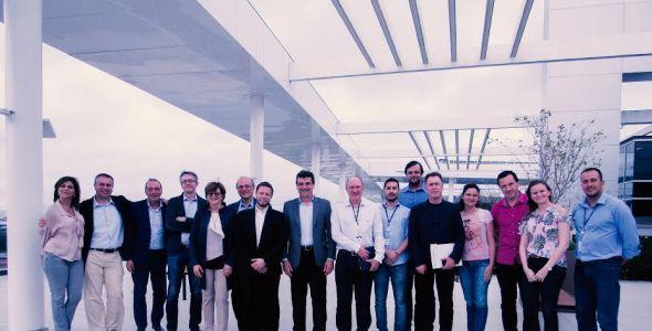 Softplan recebe comitiva italiana para discutir inovação tecnológica