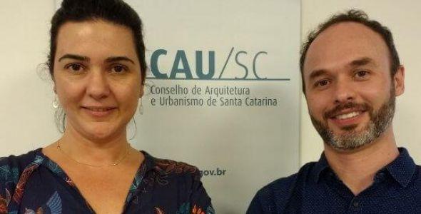 Arquiteta blumenauense é eleita presidente do CAU/SC
