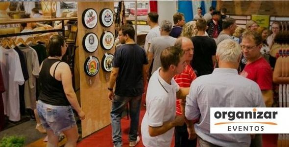 Feira da 35ª Festa Pomerana contou com apoio da Organizar Eventos