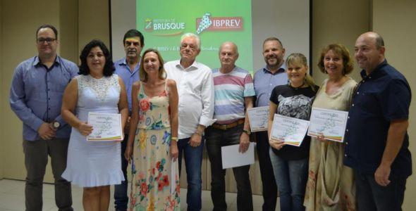 Novos conselheiros do Ibprev são empossados em Brusque