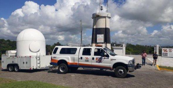 Radar meteorológico Sul já está em Araranguá e cobrirá 41 municípios