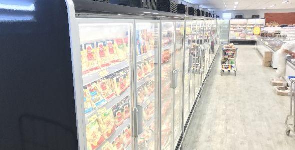 Plugn'Cool reduz mais de 30% o consumo de energia em supermercado
