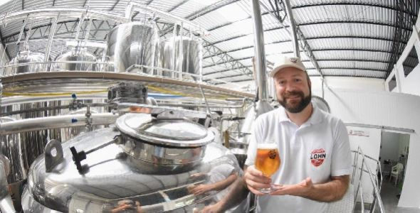 Mestre-Cervejeiro.com Florianópolis apresenta novo rótulo da Lohn Bier