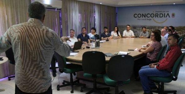 Prefeitura de Concórdia avalia Plano de Desenvolvimento Econômico Municipal