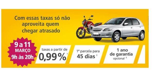 BV promove feirão de veículos seminovos em Florianópolis