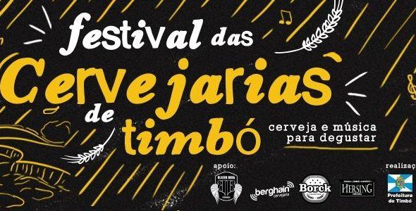 Timbó promove o 1º Festival das Cervejarias do município