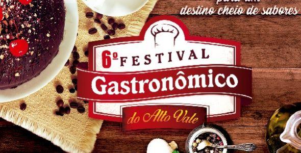 Inscrições para Festival Gastronômico do Alto Vale estão abertas