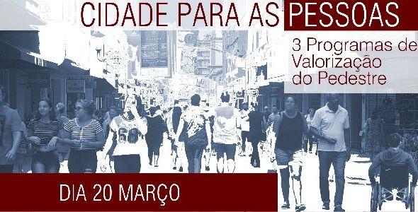 Prefeitura de Florianópolis lança o projeto Cidade para as Pessoas