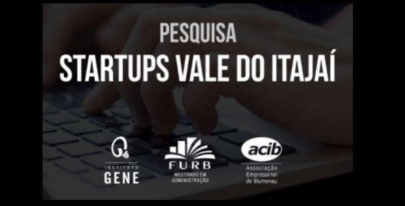 Pesquisa quer entender o perfil das startups do Vale do Itajaí
