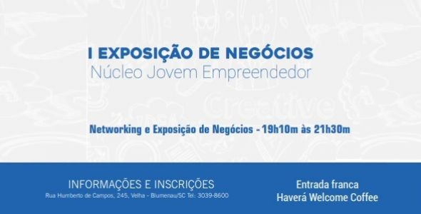 Núcleo Jovem Ampe Blumenau promove I Exposição de Negócios