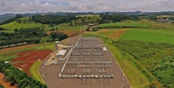 Nova subestação reforça transmissão de energia no Oeste