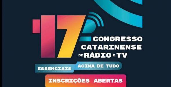 17º Congresso Catarinense de Rádio e Televisão abre inscrições